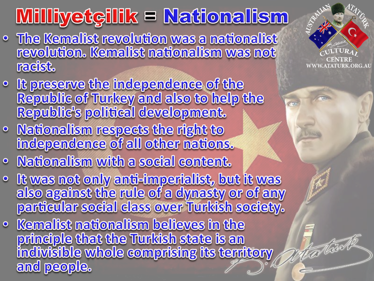 AAKM - Ataturk Principles and Reforms - 4 Nationalism